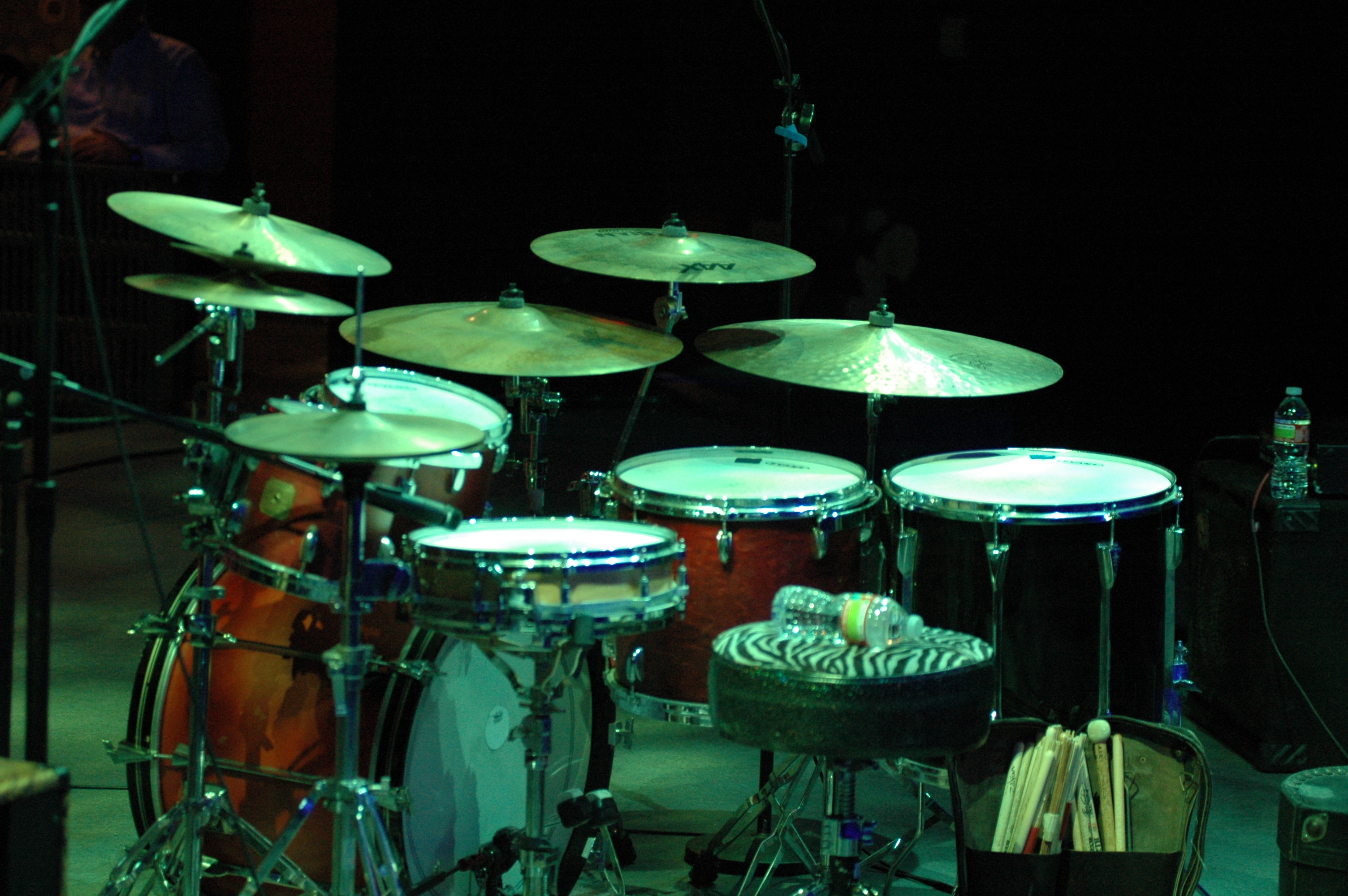 Greg Beck's Drum Set